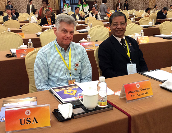 DVA photo Road to Asia Bob and Dr. Bikiran Prasad Barua of Bangladesh, DVA mmber
